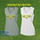 Thumbnail: Ladies V-Neck Polyester Tank Cross Country