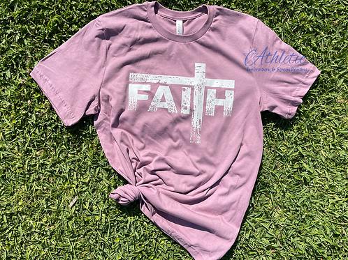 Distressed Faith Tee