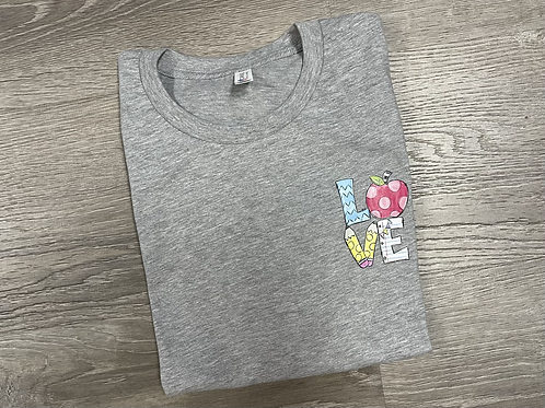 Teacher Love Tee
