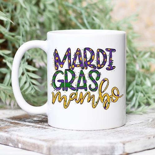 Mardi Gras Mambo Mug