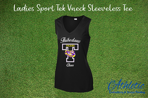 T Design Ladies V-neck Tank