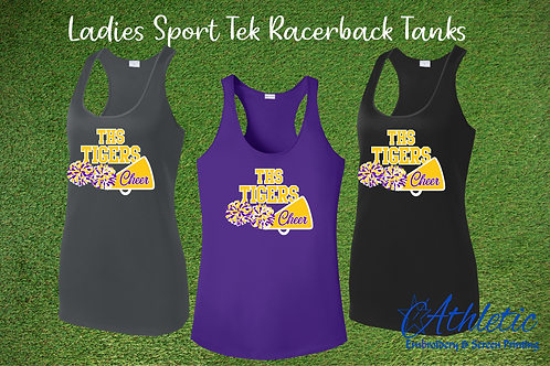 Pom Design Ladies Racerback Tank