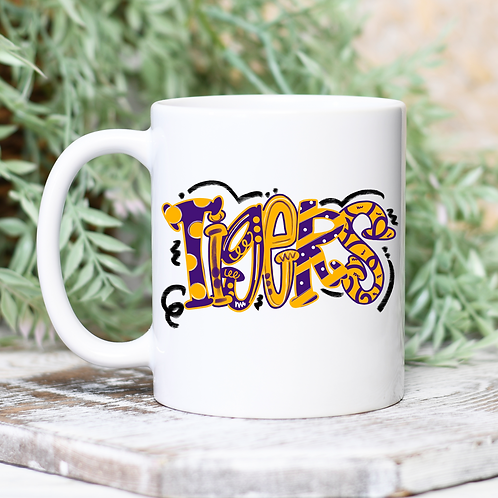 Girly Tigers Mug
