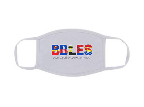 BBLES Superhero Mask