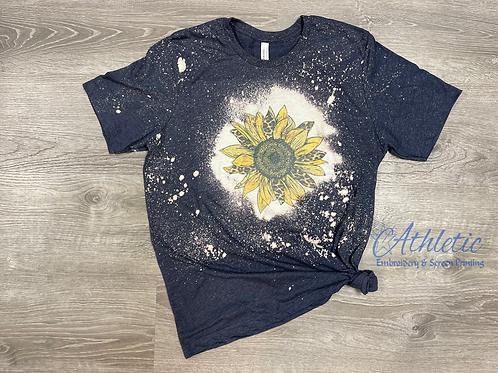 Sunflower Bleached Tee
