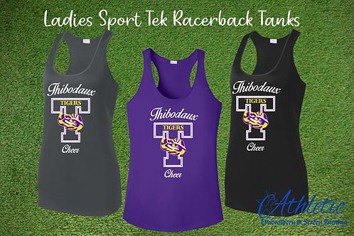 T Design Ladies Racerback Tank