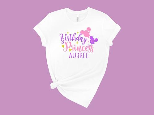 Birthday Princess Disney Tee