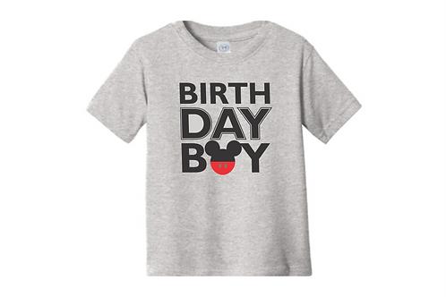 Birthday Boy Mickey Tee