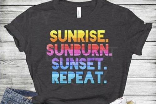 Sunrise, Sunburn, Sunset, Repeat