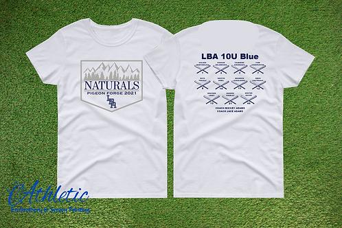 LBA Naturals -Gildan Tee