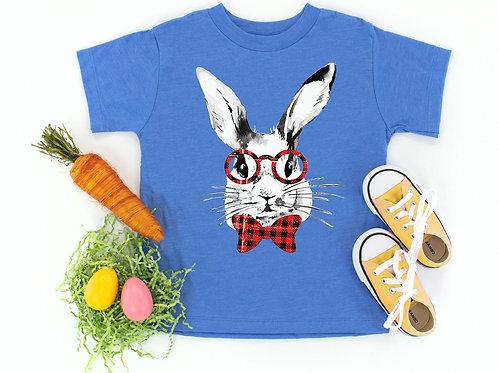 Plaid Easter Bunny Tee