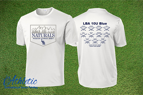 LBA Naturals -Sport Tek Tee