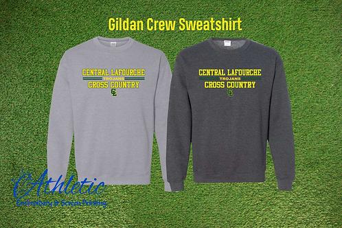 Gildan Crew Sweatshirt Cross Country Tee