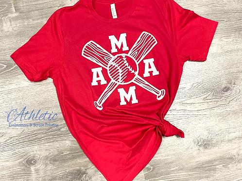Baseball Mama Tee