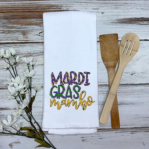 Mardi Gras Mambo Kitchen Towel
