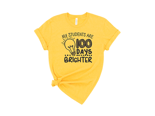 My Students are 100 Days Brighter
