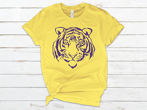 Tiger Face Tee