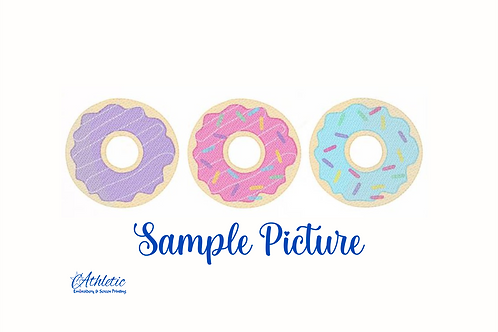 Donut Trio Embroidery