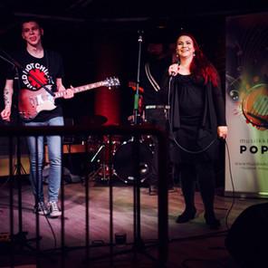 Ämpäri-bändi Musiikkiklubi Pop Upissa, kuva Jaakko Posti Photography