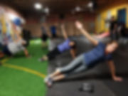 group classes,workout, planks,