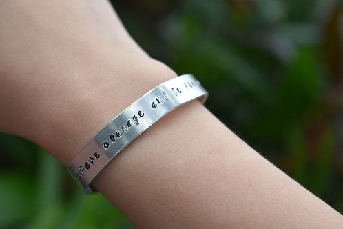 Have Courage and Be Kind Bracelet