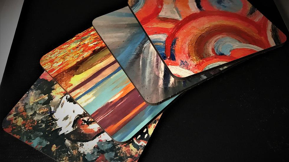 Paintings on Coasters
