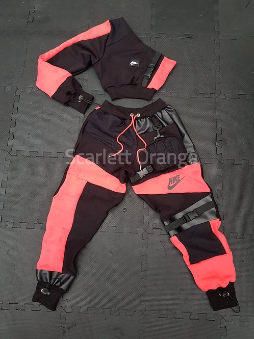 Reworked Neon Pink Nike