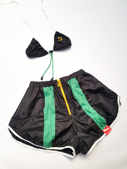 Reworked Puma Green and Black Set