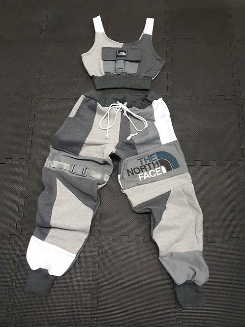 """Reworked The North Face """"Wolf"""" Set-Made to order"""