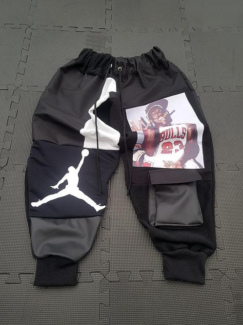 Reworked Jordan and MJ Joggers