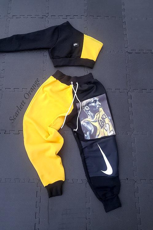Reworked Nike Kobe One sleeve set