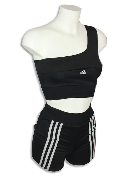 Adidas One sleeve Two piece