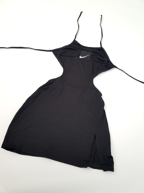 Reworked Nike Cut out Side Split Backless Dress