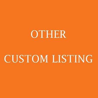 Other custom Listing