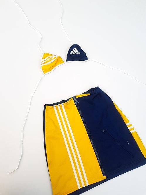 Reworked Adidas 2 way skirt