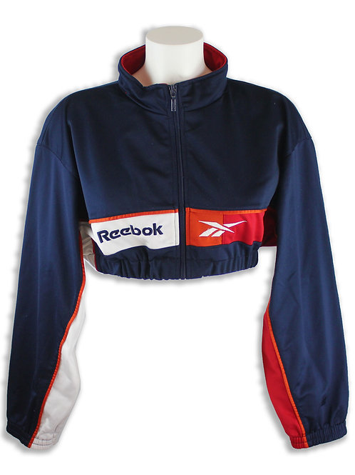 Reebok Old Skool Cropped Sweater