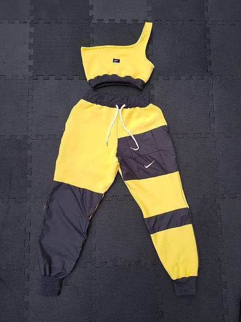 Yellow and Grey Nike