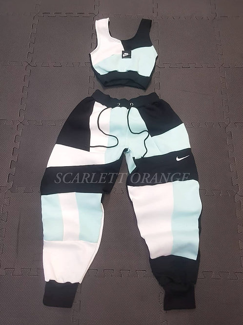 Reworked Nike Ice cold jogger set