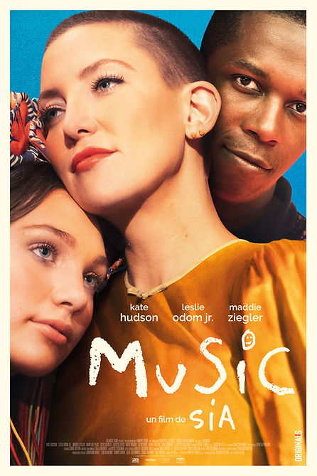 MUSIC SIA POSTER