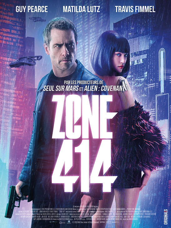 ZONE 414 french poster