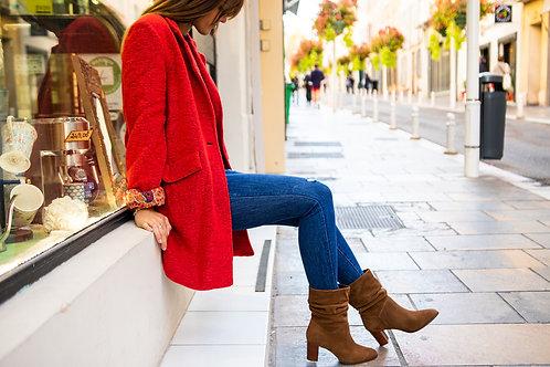 Manteau Banditas rouge