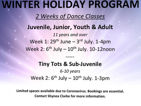 MDA Winter Holiday Program