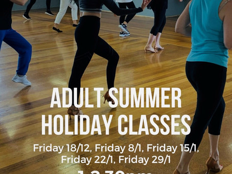 Adult Summer Holiday Classes