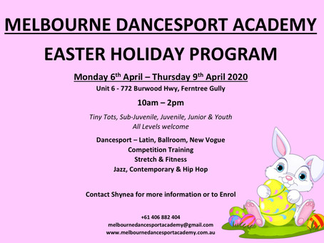 Easter Holiday Program