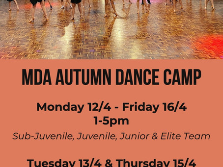 MDA Autumn Dance Camp