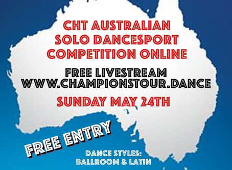 Australia's FIRST Online Dancesport Competition