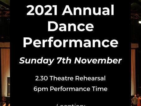 MDA Annual Dance Performance