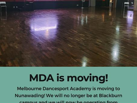 MDA New Location