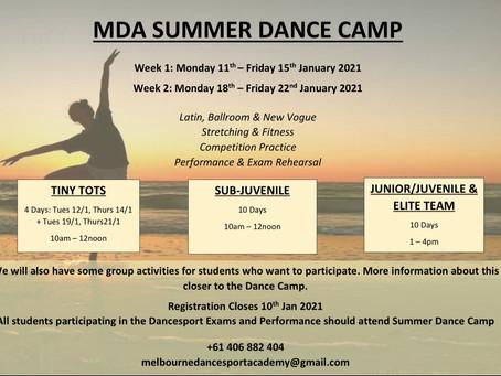 MDA Summer Holiday Program