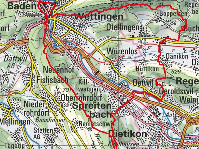 44 KM TRAIL STRECKE